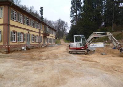 Fürstenlager Auerbach vorher