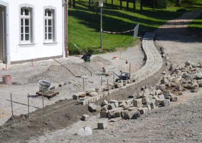 Fürstenlager Auerbach Straßenbau