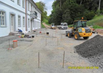 Fürstenlager Auerbach Straßenbau 3