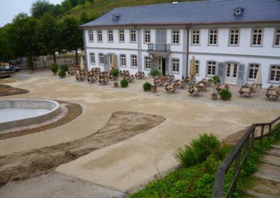 Fürstenlager Auerbach Umgestaltung Wege