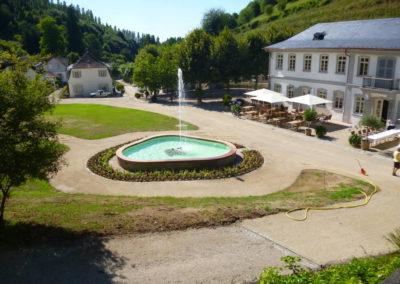Fürstenlager Auerbach Brunnen nachher